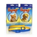Ошейник «Барьер» для кошек желто-синий (36 шт./уп.)