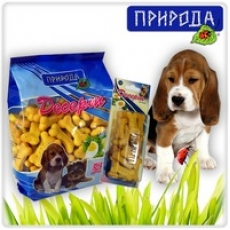 """""""Яичный"""" - десерт для собак всех пород в виде печенья. 550 гр"""
