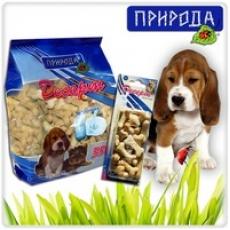 """""""Молочный"""" - десерт для собак всех пород в виде печенья. 550 гр"""