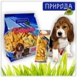 """""""Злаки"""" 550гр - десерт для собак всех пород в виде печенья."""