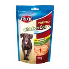 Лакомство для собак куриные монеты Трикси