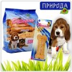 МАКСИ Злаки - десерт для собак больших средних пород в виде печенья. 550гр