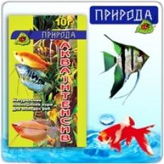 """""""Акваинтенсив"""" 10г - натуральный корм для молодых рыб"""