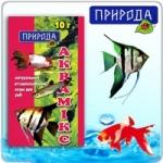 """""""Аквамикс"""" 10г - натуральный витаминизированный корм с добавкой растительных приправ"""