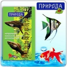 """""""Акваплант"""" 10г - корм для растительноядных рыб"""