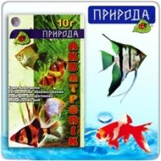 """""""Акватропик""""- натуральный сбалансированный корм для рыб 10г"""