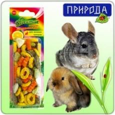 Фиеста Гранулят фруктово-травяной - корм и лакомства для домашних грызунов.