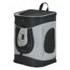 "Trixie Рюкзак-переноска ""Timon"" для собак 34х44х30см, чёрный/серый"