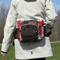 """Trixie рюкзак """"MultiBelt"""" для прогулок с собакой  57*13cм коричневый"""