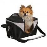 Trixie Сумка-переноска для собак чёрн/серый
