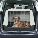 """Trixie Автобокс для перевозки собаки """"Traveller"""" чёрный/серый"""