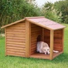 Trixie Будка для собак с террасой