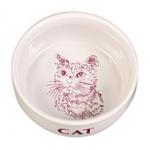 Миска керамика для кошек 0.3л Трикси \код 4010\