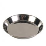 Миска для кошек стальная плоская 0,3л. Трикси  \код 2468\