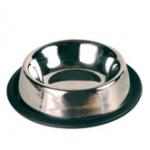 Миска стальная Трикси 0,2л/кошка резиновое кольцо \код 2469\