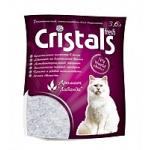 Cristals Fresh (Кристал Фреш) селикагелевый наполнитель для кошачьего туалета с лавандой 3,6л              .