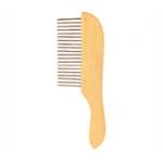 Расческа деревянная с металлическими зубцами Трикси \код 2397\