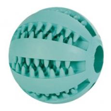 Игрушка для собак Мяч для чистки зубов собак с ароматом мяты 5см Трикси \код 3259\