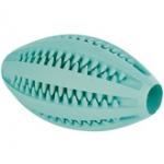 Игрушка для собак Мяч для чистки зубов регби с ароматом мяты 11см Трикси \3290\