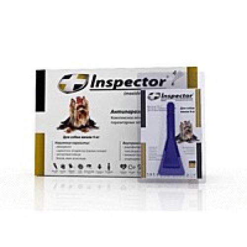 инспектор от паразитов для кошек инструкция