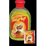 Барьер 2 в 1 шампунь универс. д/котов 300 г